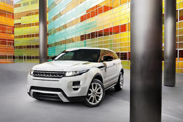 Range Rover Evoque Paris Auto Show
