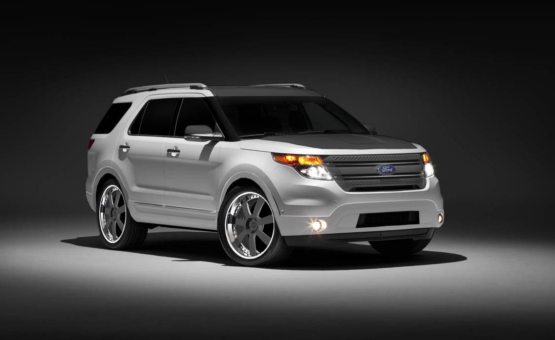 2011 Customized Ford Explorer Edge Taurus Fusions