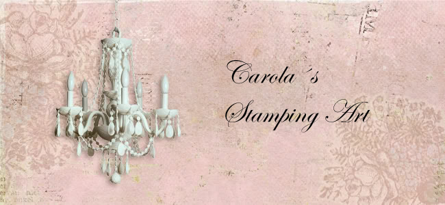 Carolas stamping art
