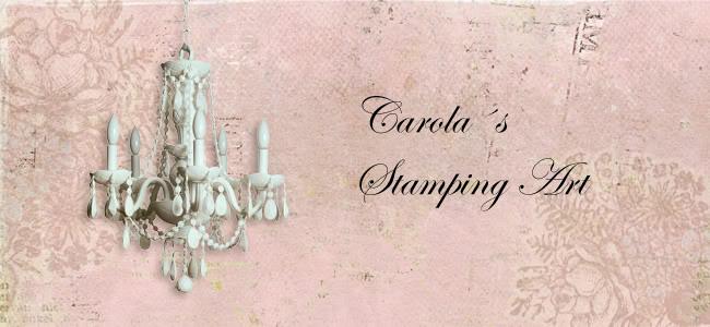 Carola´s stamping art