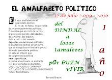 23) Analfabetismo político