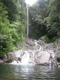 lematang indah, air terjun, curug, wisata, murah, backpacker
