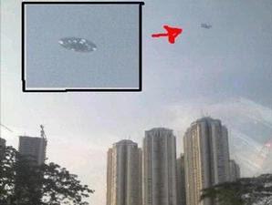 Penampakan UFO di Jakarta
