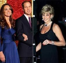 Prince William Set as Ring of Princess Diana to Kate's Fiancé