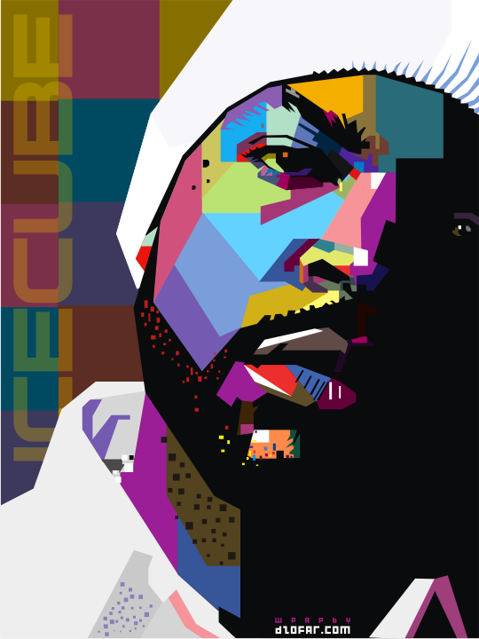 ICE CUBE POOP ART WPAP by dzofar.com