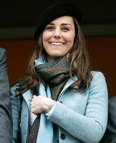 Kate Middleton Like Shopping Clothing Sale and Pizza