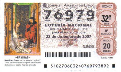 loteria nacional reyes 2007: