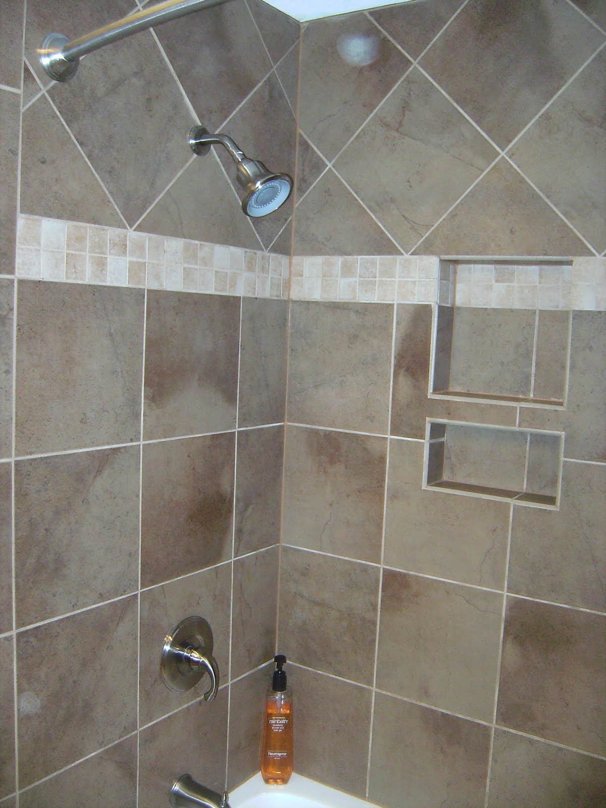 Knapp tile and flooring inc shower tub surround for Tile shower surround