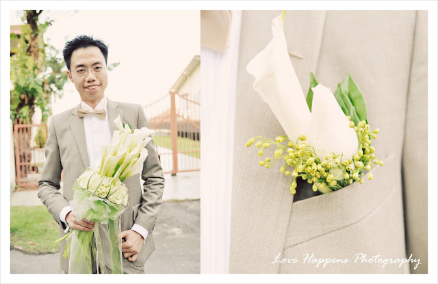 Photo of groom by Malaysia wedding photographer