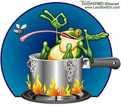 Con ếch bị luộc – The Boiling Frog