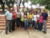Actividad Pública en la Plaza Bolívar de Valle de la Pascua.