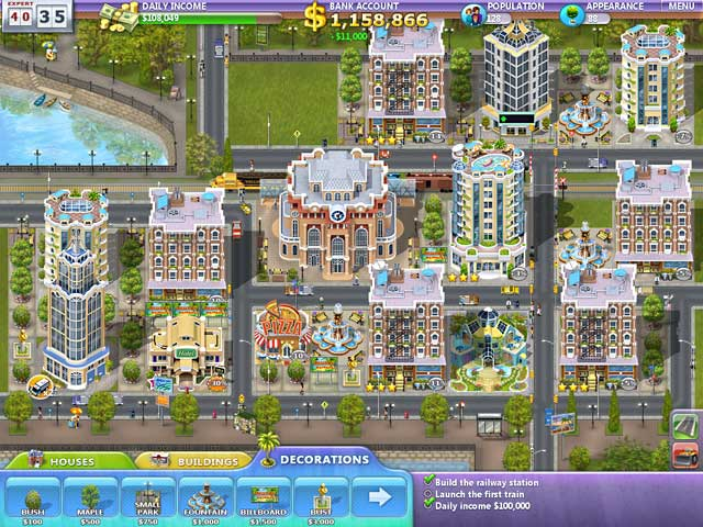 online games building a city