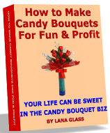 book on making candy bouquets