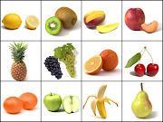 FRUTAS Y VERDURAS frutas