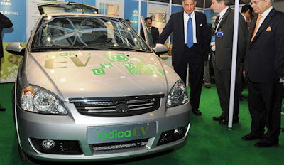 C'è anche l'India: Tata Indica elettrica