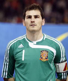 Casillas vede la Spagna favorita per la vittoria