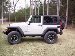 Jeep with new shoes