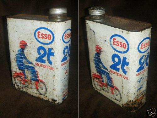 Vintage Esso Oil Can Vintage Esso 2 Stroke Oil Can