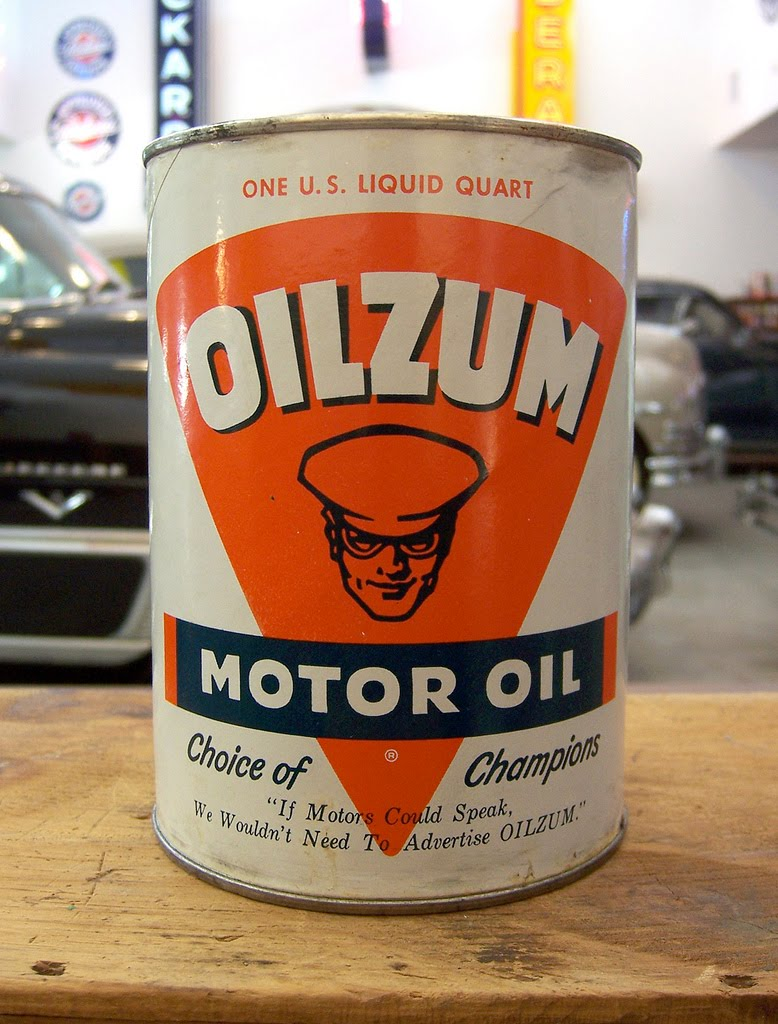 Motorcycle 74 Vintage Oil Cans
