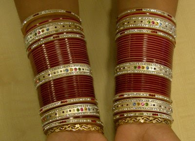 Indian Bridal Bangles Chura