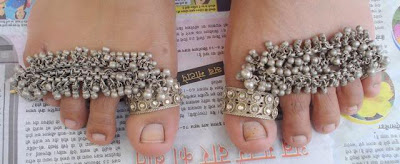 Tribal Toe Rings