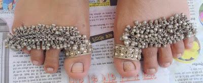 Tribal Toe Rings
