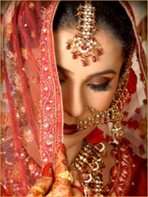 Indian Bride Nose Ring