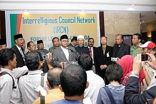 Dr Mujahid Dilantik Sebagai Pengerusi Dialog Antara Agama Untuk Keamanan Asia Tenggara