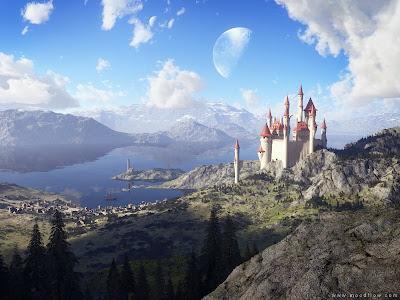 Imágenes de Ciencia Ficción Fairy-tale-lake