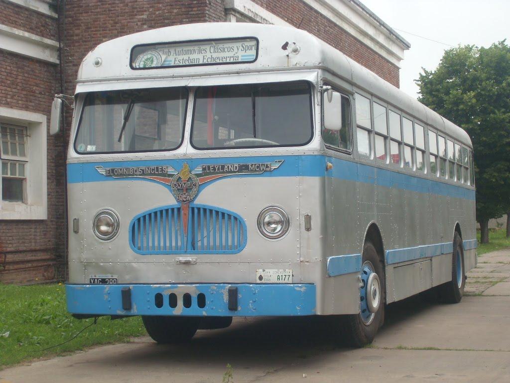 Colectivos antiguos - Autobuses larga distancia ...