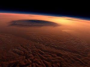 Planeta Marte Planetarojo