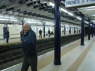 Vista de la estación Sáenz Peña de la línea A