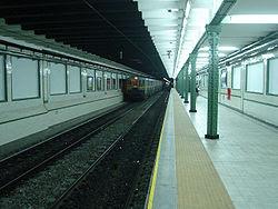 Vista de la estación Pasco linea= A de la línea {{{linea}}}