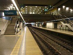 Vista de la estación Puan de la línea A