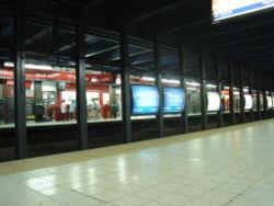 Vista de la estación Medrano de la línea B