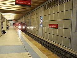 Vista de la estación Tronador - Villa Ortúzar de la línea B