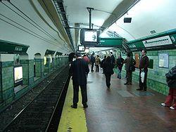 Vista de la estación 9 de Julio de la línea {{{linea}}}
