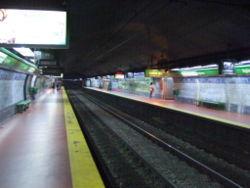 Vista de la estación Agüero de la línea {{{linea}}}
