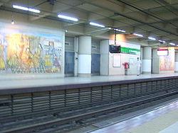 Vista de la estación José Hernández de la línea D