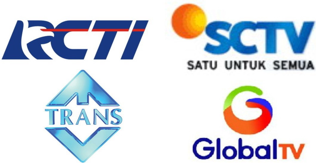 Channel TV Online RCTI, SCTV, TRANS TV, GLOBAL TV
