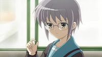 Yuki looks great with glasses.