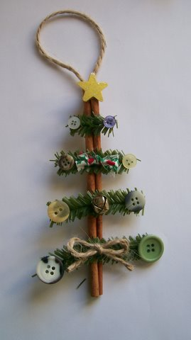 Cinnamon Stick Christmas Tree - S.C.R.A.P