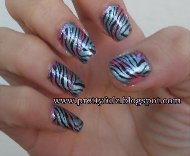 prettyfulz konad nail art cotton