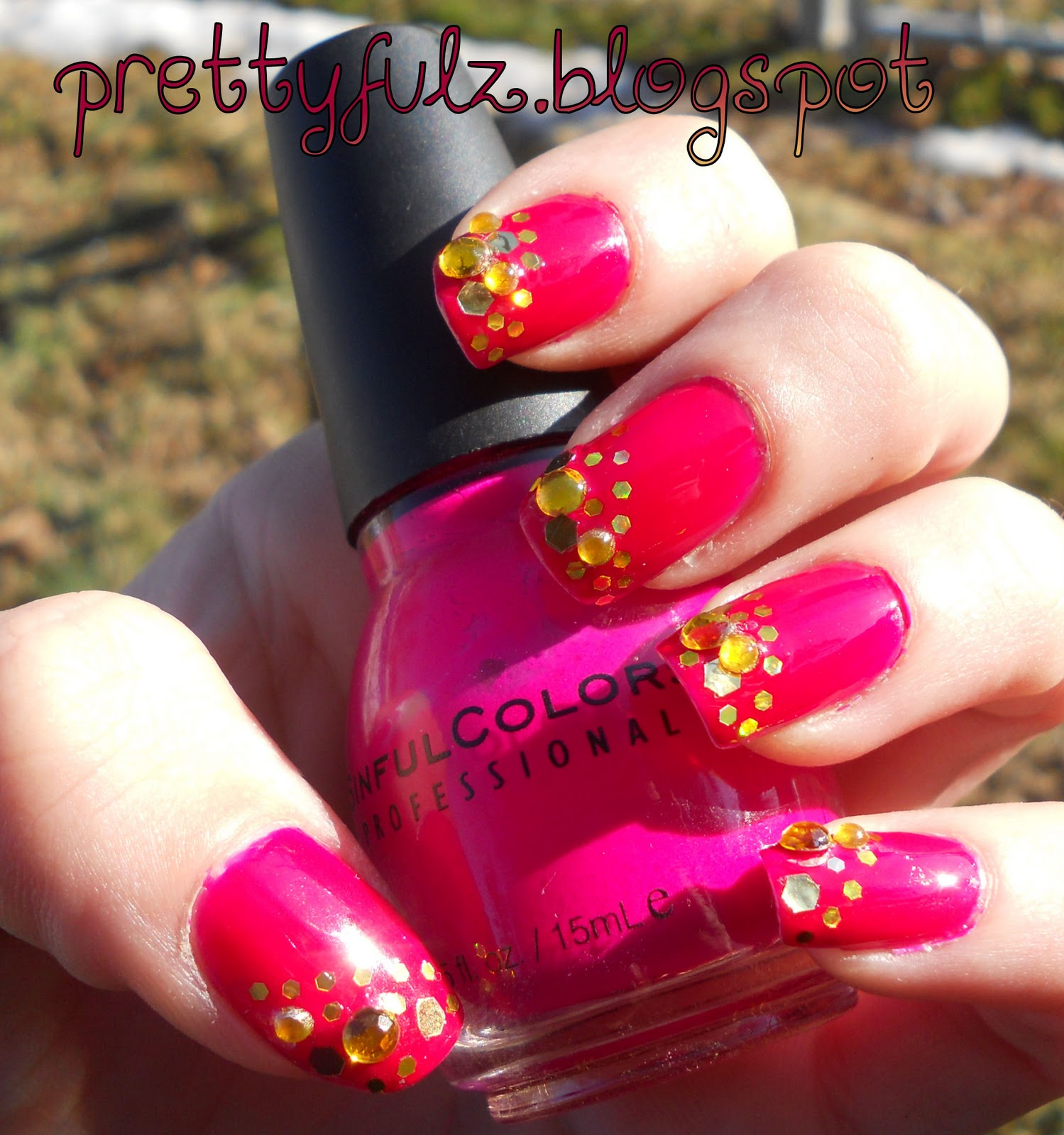 Prettyfulz Fall Nail Art Design 2011: Prettyfulz: CUTE NAIL ART DESIGN