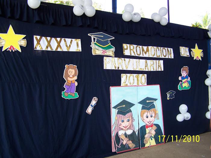 Graduación de Parvularia 2010