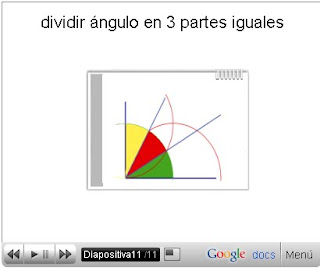 ángulos geométricos