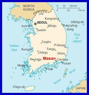 Jinhae South Korea Map