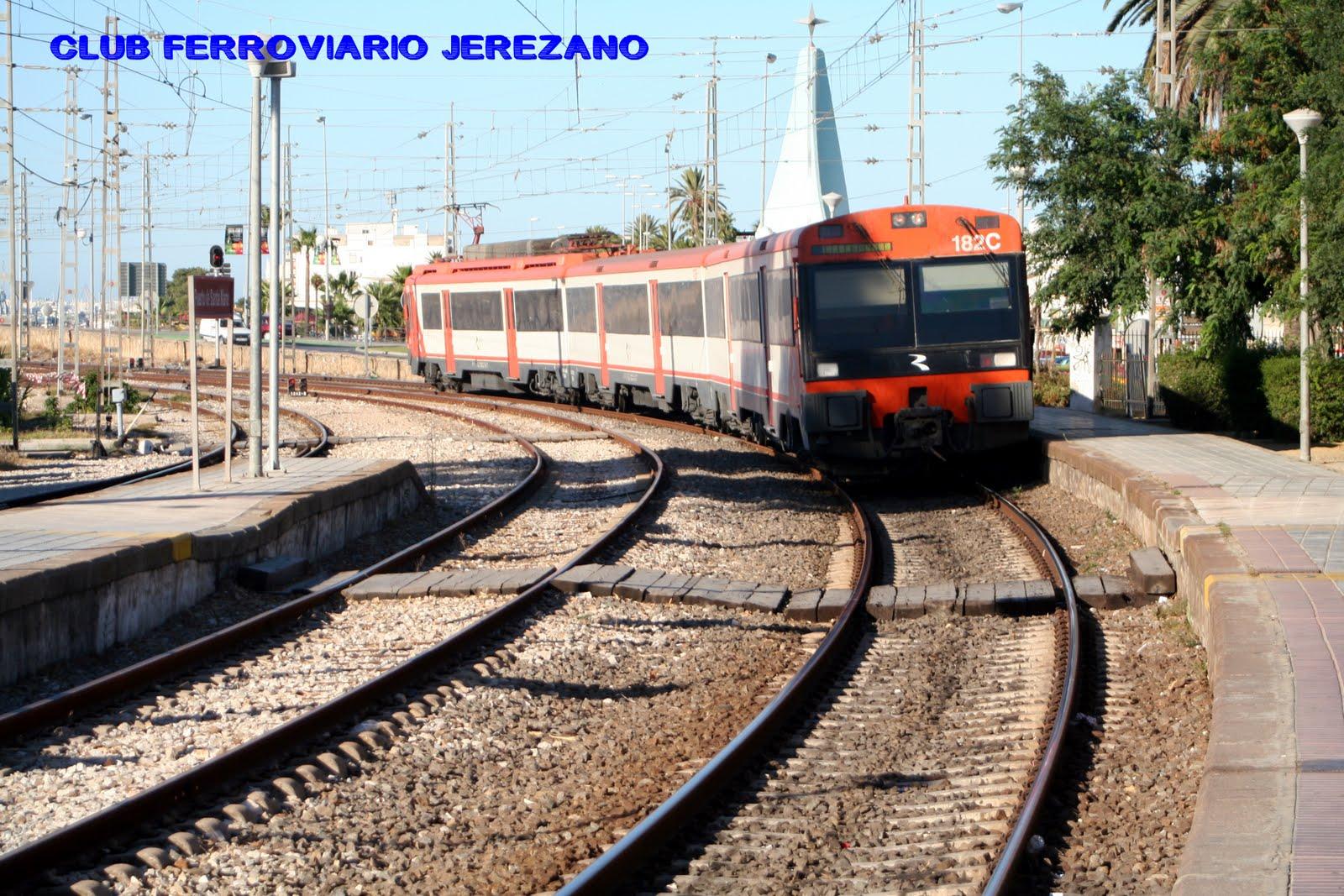 Club ferroviario jerezano estaci n puerto de santa mar a - Estacion de tren puerto de santa maria ...