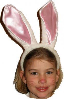 Como hacer un disfraz de conejo de pascua - C0m0 hacer manualidades ...