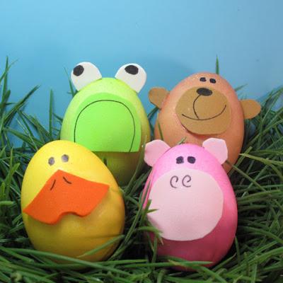 Lindos huevos de pascua decorados - Huevos decorados de pascua ...